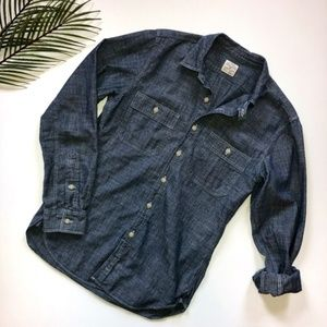 J. Crew Chambray Slim Fit Button Down